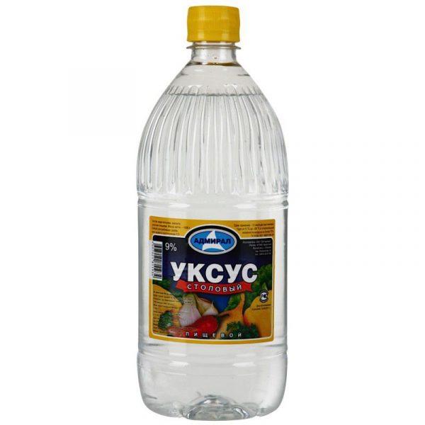 Бутылка столового уксуса