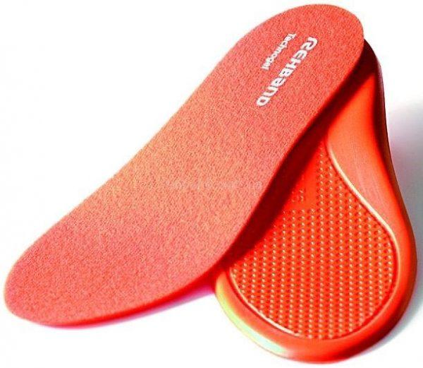 Оранжевые стельки в кроссовки