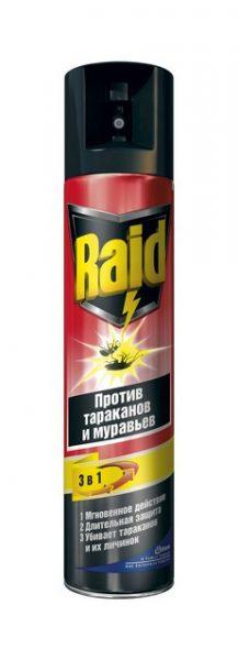 Raid от муравьёв и тараканов