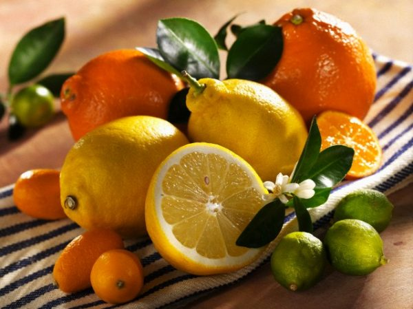 Цитрусовые плоды