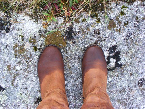 Промокшая обувь