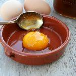 Яичный желток и глицерин