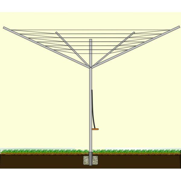 Складная сушилка типа зонтика
