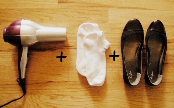 Как можно расширить обувь в домашних условиях