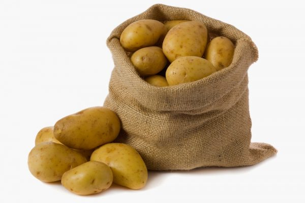 Хранение картошки в мешках