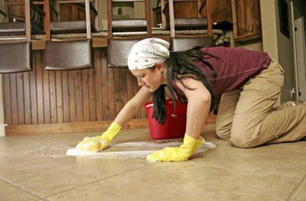 Мытьё полов