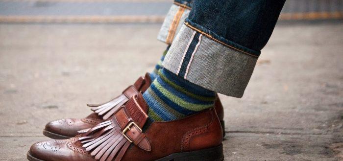 обувь на ноге