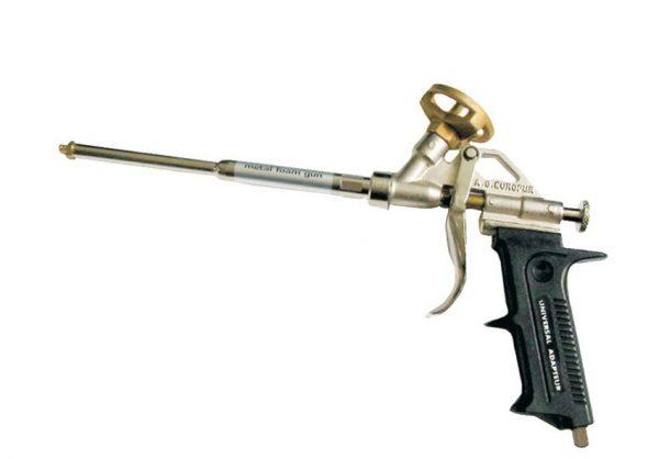 Разборной пистолет для монтажной пены
