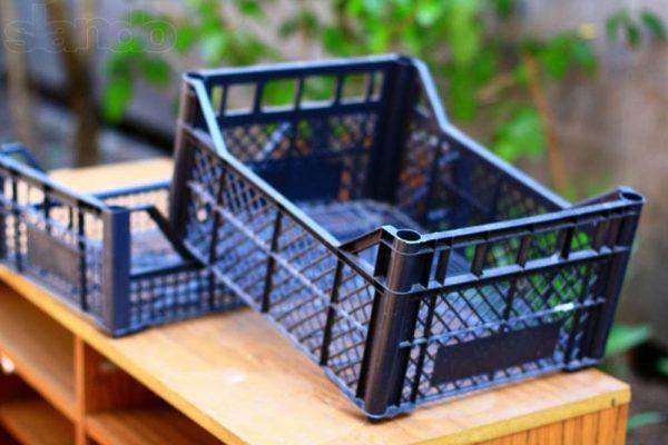 Пластиковые ящики дла хранения картофеля