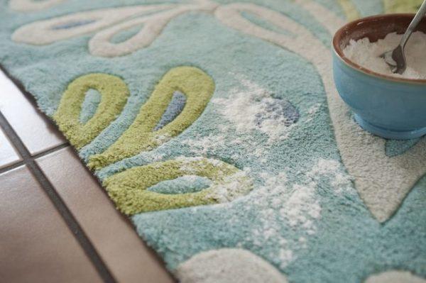 чистка ковра содой в домашних условиях