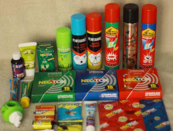 Химические средства чтобы избавиться от насекомых