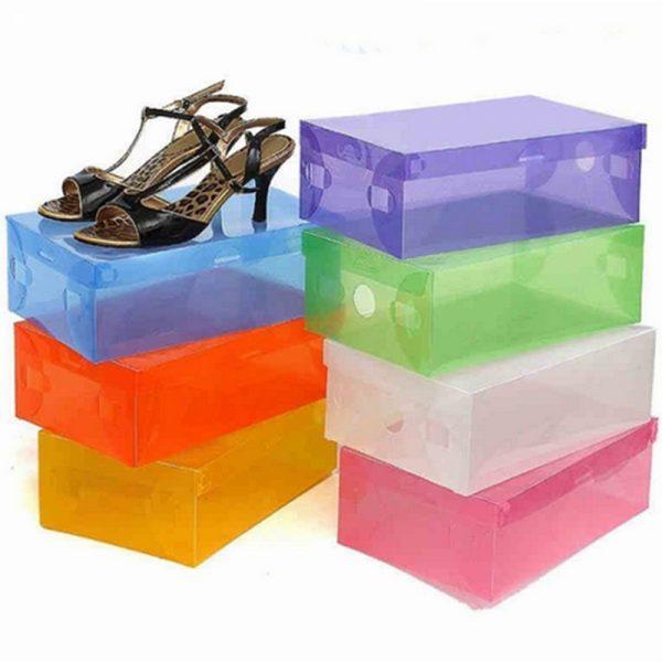 Пластиковый контейнер для обуви