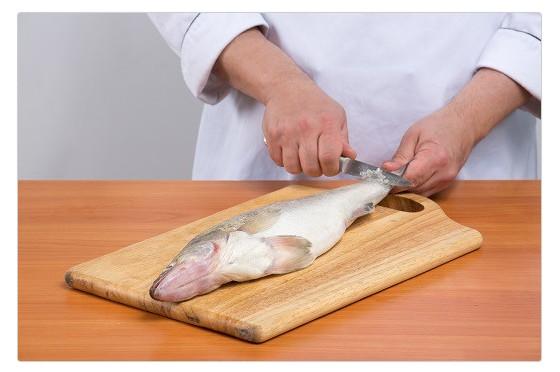 Разделывание рыбы