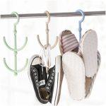 Кронштейн из металлической трубы для обувных вешалок