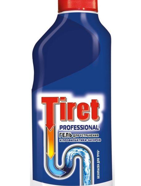 Средство для прочистки труб Тирет