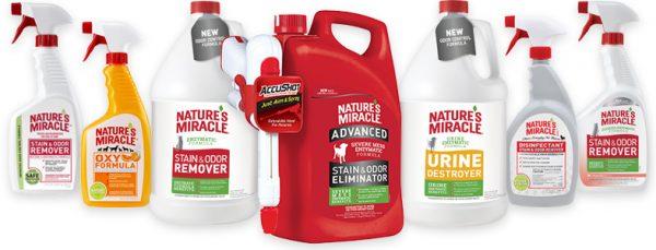 Бутылки с Nature's Miracle