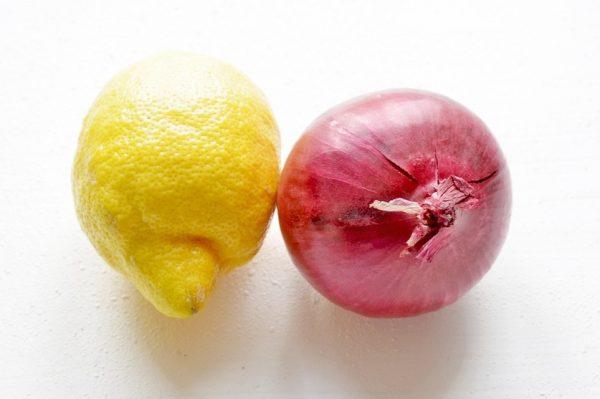 Лимон и луковица