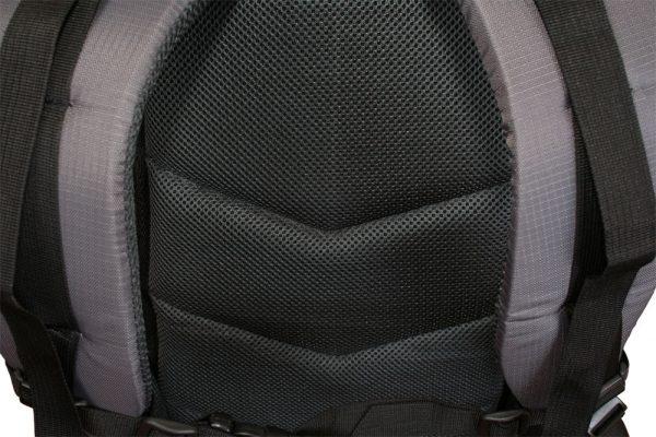 Рюкзак крупным планом со спинки