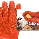 Перчатки для чистки молодого картофеля