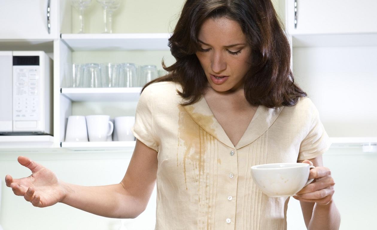 Как вывести пятно от кофе с ткани фото