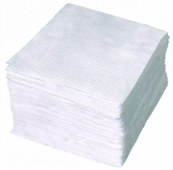 Белые столовые салфетки