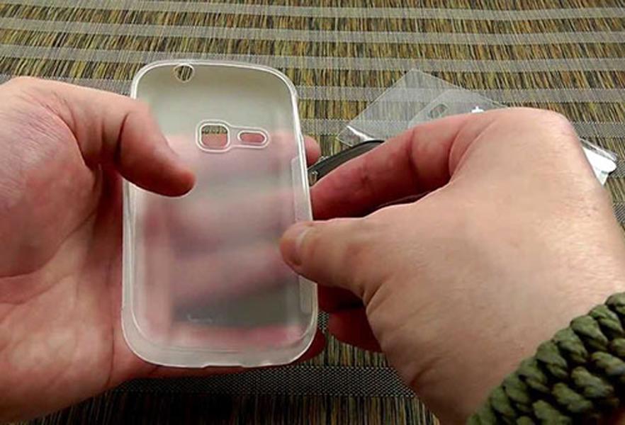 Как отбелить чехол для телефона из силикона своими руками 20