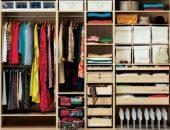 Большой шкаф с одеждой