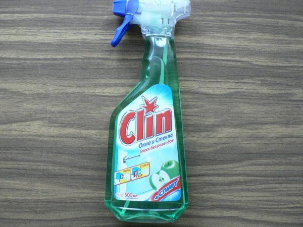 Clin средство для стёкол
