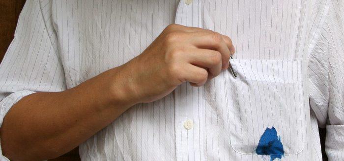 как вывести пятна от ручки