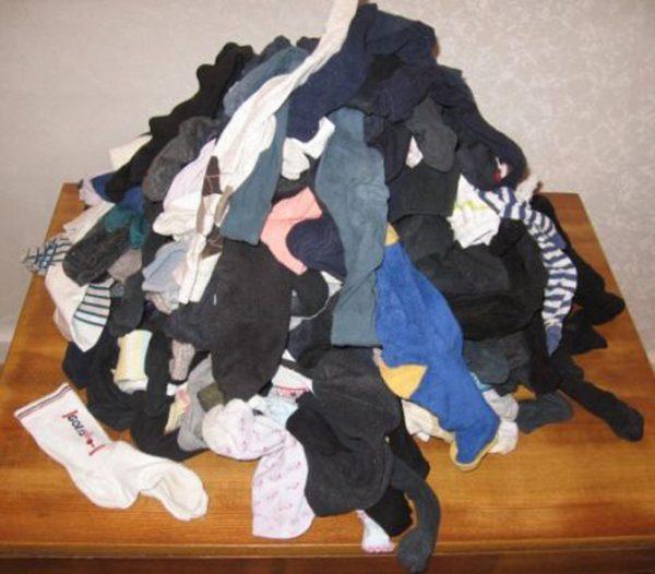 Носки пора стирать