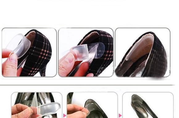 Пошаговая инструкция как клеить силиконовые накладки на задник