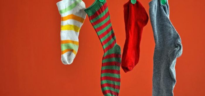 Стираем носки