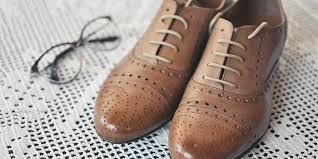 Обувь из кожи с лазерной обработкой