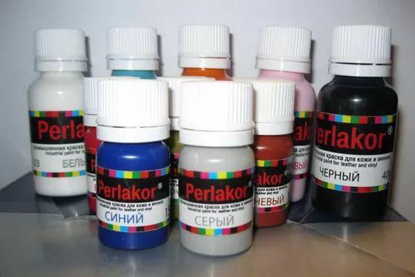 Краска для кожи разных цветов